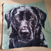 customer-crochet-art bonneys dog