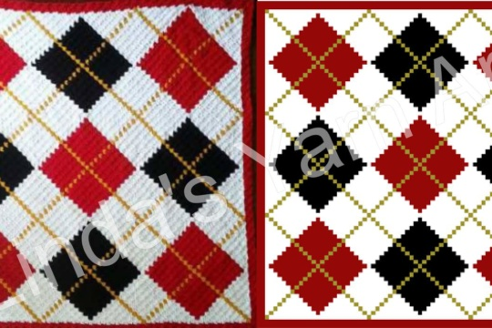 ARGYLE SIDE BY SIDE (watermark)
