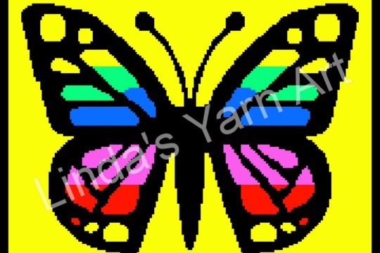 COLORFUL BUTTERFLY WM (watermark)