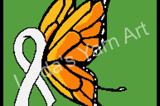 LUNG CANCER BUTTERFLY RIBBON(watermark)