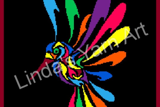 RAINBOW HUMMINGBIRD WM (watermark)